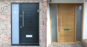 modern front door. Modern Front Door Lights Stained And Painted Doors Blog Designer Design
