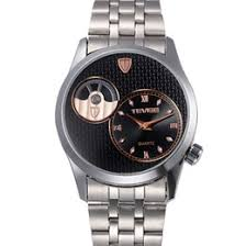 discount mens coloured watches 2017 mens coloured watches on discount mens coloured watches luxury watches original tevise calendar men watch stainless steel auto mechanical watch
