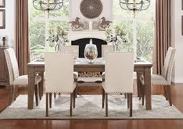 Underpriced Furniture Driftwood Dining Set