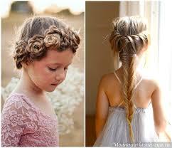 Detské účesy S Bielymi Luky Ako Krásne Dať Krátke Vlasy Dievča
