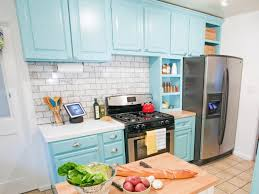 diy painting kitchen cabinets oak hide grain design yellow gray size large white subway tile backsplash