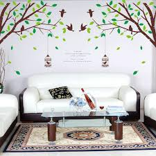 living room inexpensive removable wall stickers idea