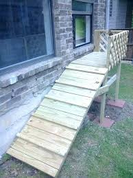 dog ramp for outdoor stairs how to build a over deck pet cat dog ramp