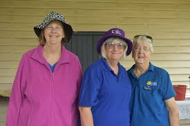 Robyn Perrett, Penny Thompson, and Betty Barton.   Buy Photos Online   News  Mail
