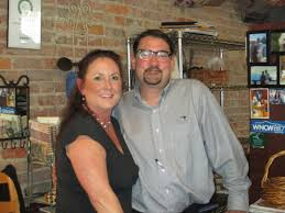 Palette and Jeff Butler, owners of the Veranda Cafe in Black Mountain.