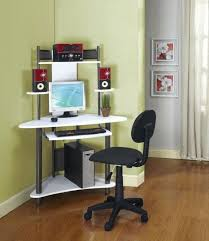 furniture very small modern corner computer desk in white regarding wonderful ikea your home id corner computer desk plans for top ikea with sliding d
