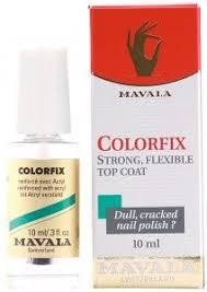 <b>MAVALA</b> ColorFix <b>Top Coat</b> reviews, photos, ingredients ...