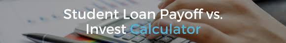 Pay Off Student Loan Or Invest Calculator Lendedu