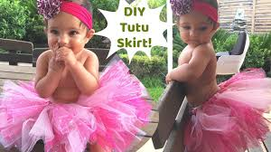 no sew tutu skirt for baby perfect for first birthday party or photoshoot diy