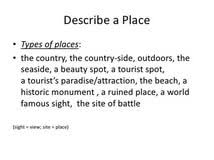 your place where you live essay essay describing a place ciclick web solutions