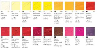 38 Matter Of Fact Ecoline Color Chart