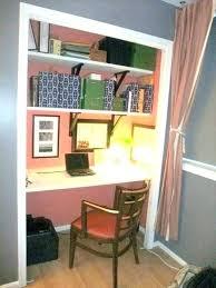 turn closet into office. Closet Into Office Turn Small Kt Blue Designs .