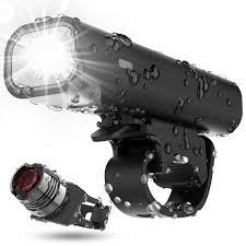 400 Lumen Bike Light Usb Rechargeable Bike Light Set Runtime 8 Hours 400 Lumen
