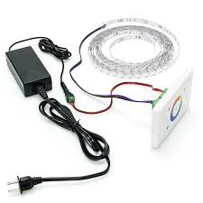 wall mount touch color rgb controller ldwm rgb3 tc strip modules source led solution