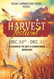 Spiritual Harvest Church Flyer Template | This Spiritual Har… | Flickr
