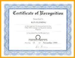Sample Certificate Award Samples Of Recognition Awards Wording For Award Certificates