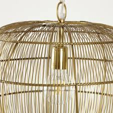 gold wire pendant d43 orphae maisons