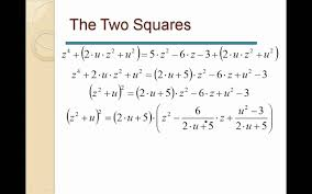 equations the quartic equation polynominal of 4th degree example