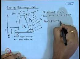 Small Picture Mod 01 Lec 23 Design of Retaining Wall YouTube