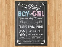 Gender Reveal Invitation Templates Free Printable Gender Reveal Party Invitations Kadil