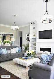 living room ideas showing furniture. Ideas For Using Blue And White Decor Including Tips The Bedroom, Living Room, Kitchen, Dining More. Room Showing Furniture O