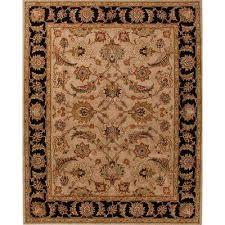hand tufted safari 8 ft x 10 ft oriental area rug