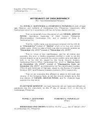Certificate Of Discrepancy Sample Filename Emergency Essentials Hq