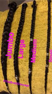 Braid Chart Braids Jumbo Braids Box Braids Braids Sizes In