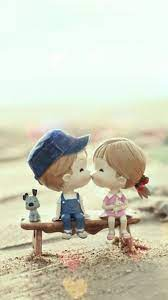 Cute Cartoon Kissing Couple Iphone 8 ...