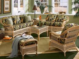 Living Room Wicker Furniture Awesome Rattan Living Room Furniture 95 With Rattan Living Room