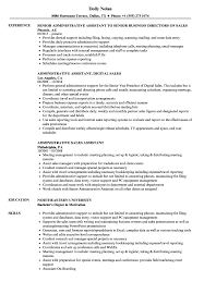 Equity Sales Assistant Resume Administrative Sales Assistant Resume Samples Velvet Jobs 10