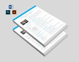 Features Of Resume Template Resume Templates Creative Market Fascinating Resume Features