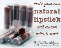 how to make your own natural lipstick with custom color and scent