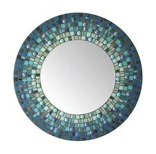 round mosaic mirror c11 materials stained glass glass mosaic tile glass