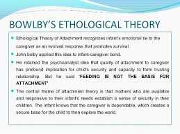 bowlby s theory of attachment 5 bowlby s ethological theory iuml130151 ethological theory of attachment