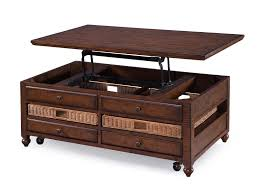 magnussen home rectangular lift top cocktail table