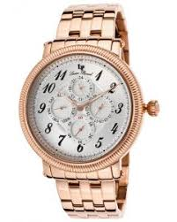 lucien piccard shop by brand world of watches potenza multi function rose tone ss silver tone dial rose tone ss