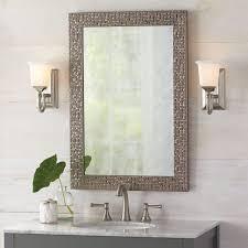 Bathroom Cabinets : Antique Bathroom Mirrors Bath Mirrors Regarding Long  Rectangular Mirrors (Image 1 of