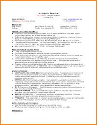 10 Cv Resume Sample Student Theorynpractice