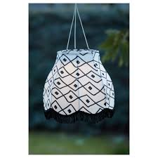 solvinden led solar powered pendant lamp ikea hanging light with remote control bulbs sunlight by eva