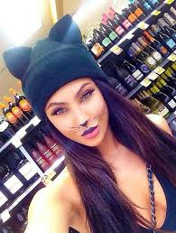 cool cat you can totally pull off the cat look with some simple makeup but when it s paired with this cat eared beanie you ve