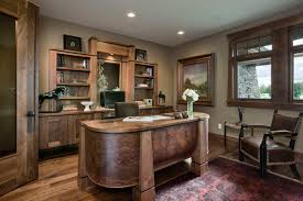 rustic office design. 17 Inspiring Rustic Home Office Designs To Motivate You Design