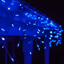 Blue White Outdoor Christmas Lights