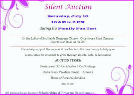 silent auction program template winner certificate best of silent auction certificate template