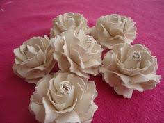 """<b>Paper Flower</b> Pieces"". <b>Cardstock paper flower</b> tutuorial. This ..."