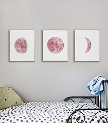 bedroom wall art for teen girls moon phases wall art print girl room wall on wall art teenage girls bedroom with amazon bedroom wall art for teen girls moon phases wall art
