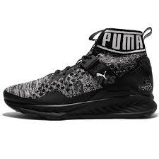 puma running shoes ignite. puma ignite evoknit black grey men running shoes trainer sneakers 189697-09 ignite