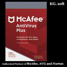 1 device 1 year mcafee antivirus plus 2018 for 1 device 1