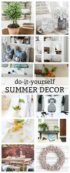 Home Decor Hacks DIY Your Way To Designer Summer Decor  HGTVDiy Summer Decorations For Home
