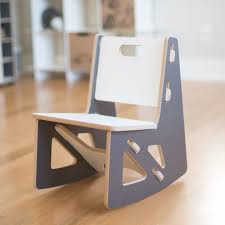 modern playroom furniture. Playroom Furniture · Modern Grey Kids Rocking Chair By Sprout D